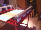KRMx01 Y-Axis rails completed.