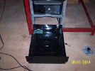KRMx01 Electronics drawer with cable manager attached.